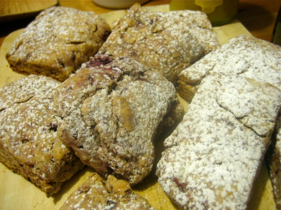 And Whole Wheat Raspberry Ricotta Scones from his signed Smitten ...